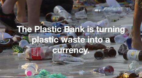 Un filament écologique issu des déchets plastiques de l'océan | Lateral Thinking Knowledge | Scoop.it