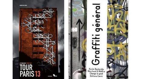 Beaux livres, le street art à l'honneur - France Info | typographie, nouveaux médias | Scoop.it
