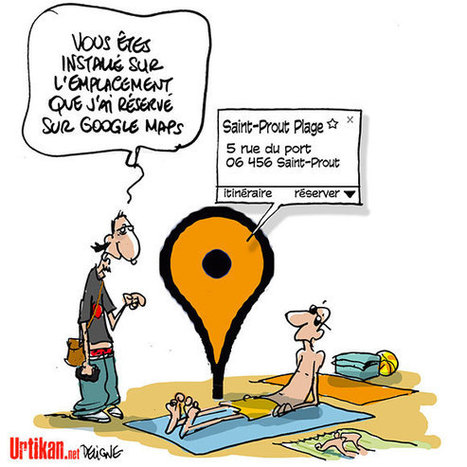 Vacances à la plage… | Dessinateurs de presse | Scoop.it