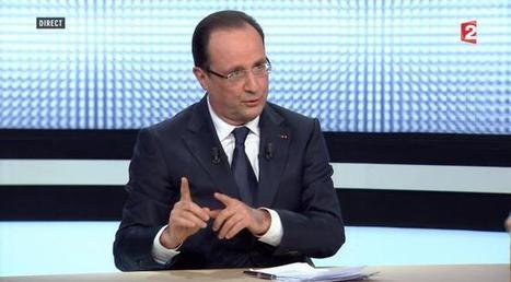 François Hollande sur France 2 : les réactions des politiques après son grand oral | mymisc | Scoop.it