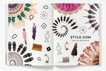 Style.com touts relaunch in first advertising campaign | e-Luxe | Scoop.it