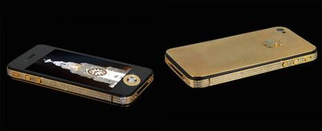 Un iPhone 4S serti de pierres précieuses à 9,4 millions de dollars | e-books kindle | Scoop.it