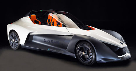 Too Bad You'll Never Drive Nissan's Razor-Like Electric Concept | Heron | Scoop.it