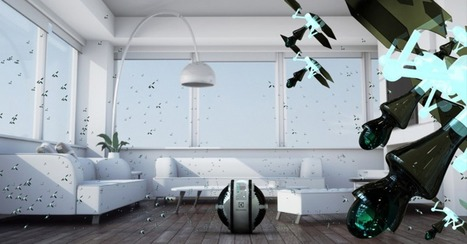 These Flying Robots Could Someday Clean Your House - Mashable | robotic vacuum cleaner | Scoop.it