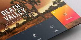 Inspiration mobile #2 : Menu et système de navigation | Tips & example webdesign | Scoop.it