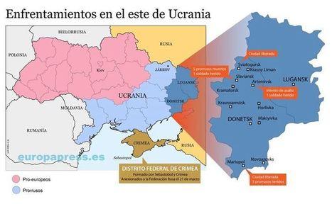 ¿Dónde están siendo los enfrentamiento en Ucrania? | Security & Intelligence OSINT | Scoop.it