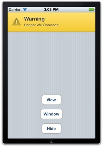 A Polite UIAlertView Alternative for iOS | Mobile Technology | Scoop.it
