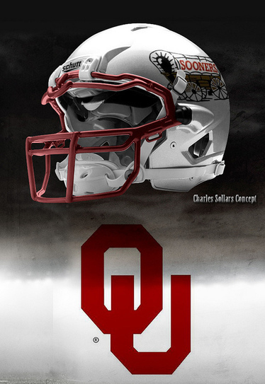 Four New Helmet Designs For OU Football   Sooner4OU   Scoop.it
