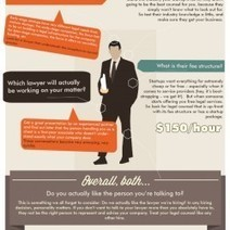 Startup Lawyer: 5 Questions to Ask Before Hire   Visual.ly   Law and Legal Infographics   Scoop.it