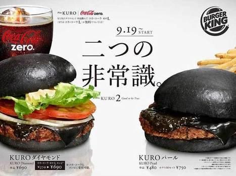 Kuro Burger : le hamburger noir de Burger King | What makes Japan unique | Scoop.it
