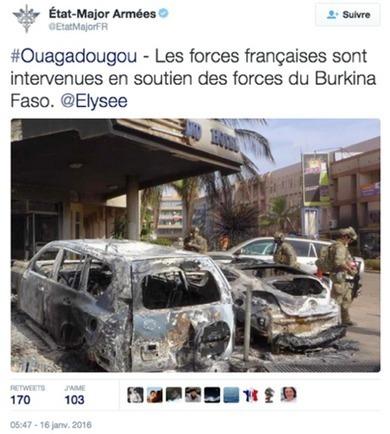 Guerres et Influences | Ouagadougou, la communication de l'EMA en première ligne | JOURNALISME | Scoop.it