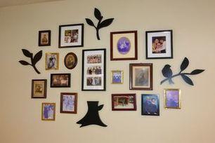 30 idées créatives d'arbres généalogiques avec des photos - La Famille Bon Plan | Nos Racines | Scoop.it