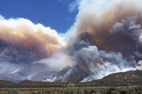 Mountain Fire: Natural Hazards | Geography Education | Scoop.it