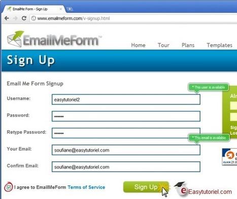Créer un formulaire de contact pour votre site gratuitement (6 méthodes) ! | Time to Learn | Scoop.it