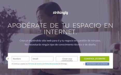 Strikingly: crea gratis tu página web y sin conocimientos en programación | Educacion, ecologia y TIC | Scoop.it