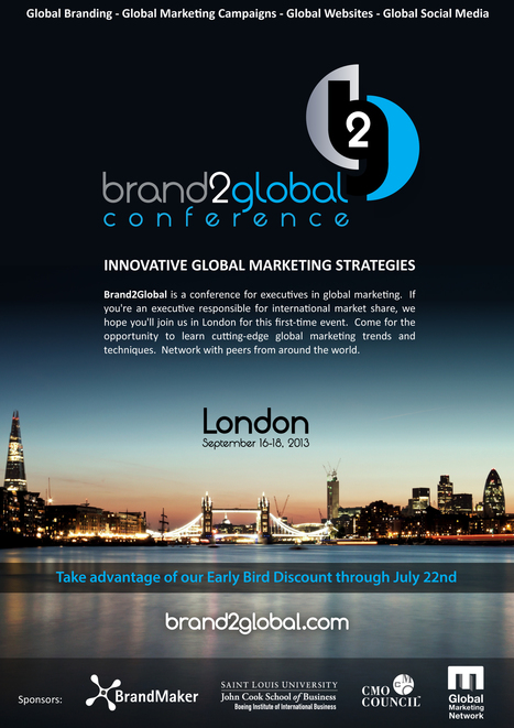 Brand2Global London 2013 | All About Marketing Operations | Scoop.it