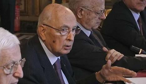 Italie : Giorgio Napolitano réélu par défaut chef de l'Etat | Le Monolecte | Scoop.it