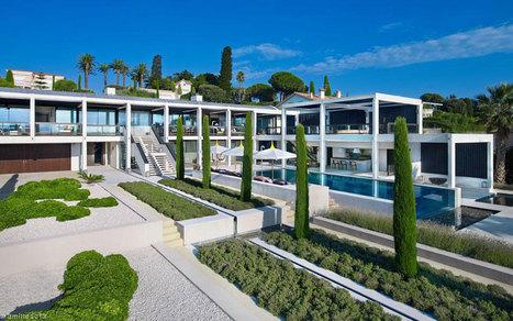 Une villa de rêve au Cap d'Antibes!!   Decoration   Scoop.it