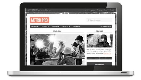 Metro, a Responsive and HTML5 Ready Magazine Theme for ... | Recursos Web 5 | Scoop.it