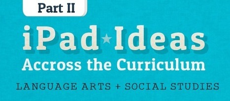 iPad Ideas Across the Curriculum: Language Arts and Social Studies | Making Connections 4 U | Scoop.it