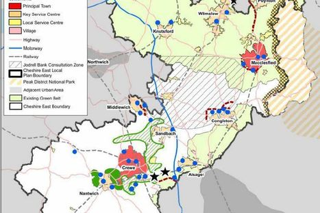 Maps reveal how Cheshire East's proposed Local Plan could affect people in Crewe, Nantwich and Sandbach | Pandy research | Scoop.it