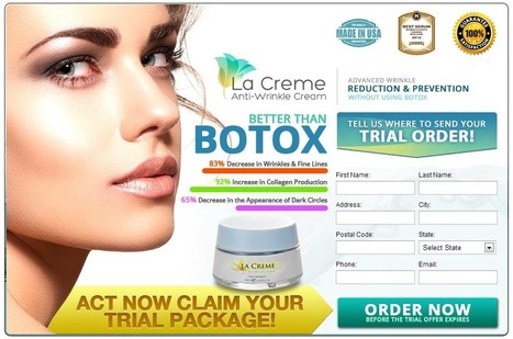 La Crème Anti Wrinkle Cream Review – Look Younger and Refreshed! | claire colin | Scoop.it