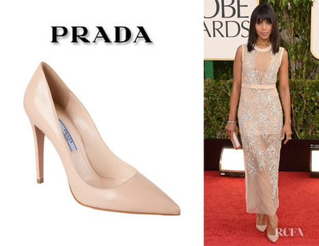 Kerry Washington's Prada Pointed Toe Pumps | Red Carpet Fashion ... | Art & Music Tendencies | Scoop.it