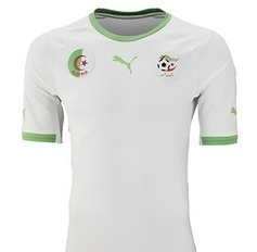 Algeria 2014 World Cup Jersey – Home and Away Kits Released   Fifa World Cup 2014 Brazil   Scoop.it