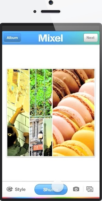Mixel for iPhone -Create Collages | New Mobile Apps | Scoop.it
