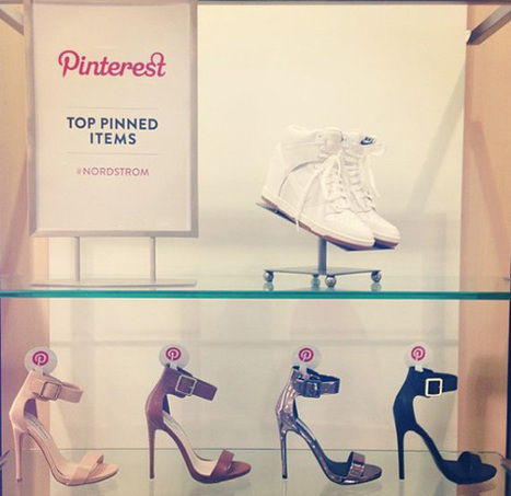 Nordstrom Capitalizes on the Social Shopper with In-Store Pinterest Tie-In | The Future of Content | Scoop.it