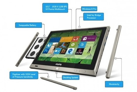 KUPA Ultranote: un tablet con Windows 8 di alta fascia | Luxury & Technology | Scoop.it