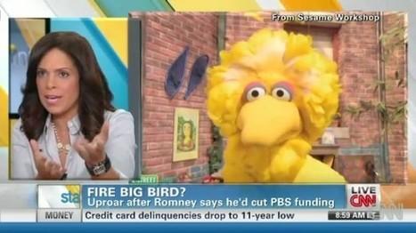 Soledad O'Brien's son 'devastated' over Romney plan to 'kill' Big Bird | The Raw Story | Prozac Moments | Scoop.it