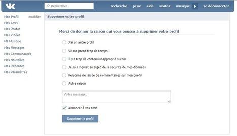 Supprimer un compte VKontakte   Se désinscrire des Réseaux Sociaux   Scoop.it
