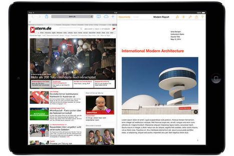 Apple-Gerüchte: iPad Air 2 soll Splitscreen-Multitasking beherrschen - STERN.DE | iPad in der Schule | Scoop.it