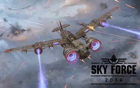 Sky Force 2014 v1.1.0 apk +data [Mod Unlimited] | Android Games | Scoop.it