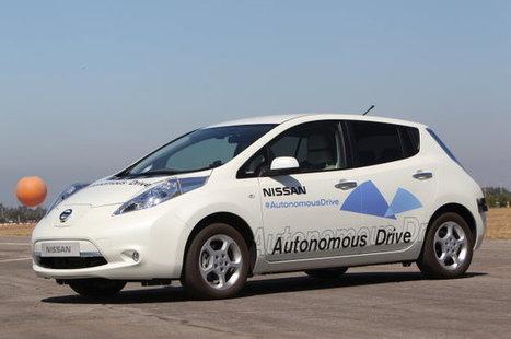 Nissan promising autonomous car production by 2020 - Autoblog | 2020 Summer Olympics decision play | Scoop.it