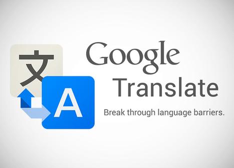 Traductor Google - Nuevo traductor de voz instantánea | Wallet Digital - Edu Tecnología | Scoop.it