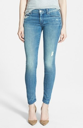 Women's MOTHER 'The Looker' Skinny Stretch Jeans (Graffiti Girl) | Jeans Fashion | Scoop.it