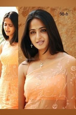 Anushka Shetty Peach Color Soft Georgette Sari @ Rs. 1,555 | Gifting Zone | Scoop.it