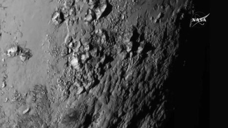 Pluto flyby latest images news briefing - BBC News | ELA Resources | Scoop.it