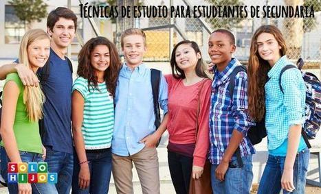 Técnicas de estudio para estudiantes de secundaria   Solohijos.com   Comprensión y producción de textos académicos   Scoop.it