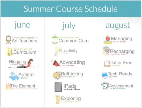 2 New Classes and Summer Course Schedule Released! | The Art of Ed | Creativity and Art Education | Scoop.it