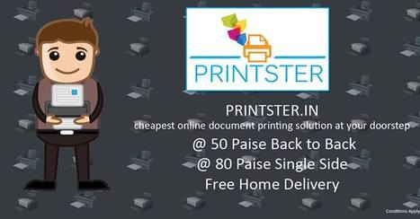 Monsoon Offer - Printer | Best Online document Printing services Delhi NCR | Scoop.it