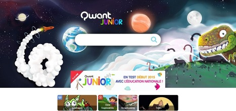 Qwant Junior   Time to Learn   Scoop.it
