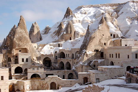 Turquie, Cappadocia, Fairy Chimney Hotel in Göreme | Architecture et montagne | Scoop.it