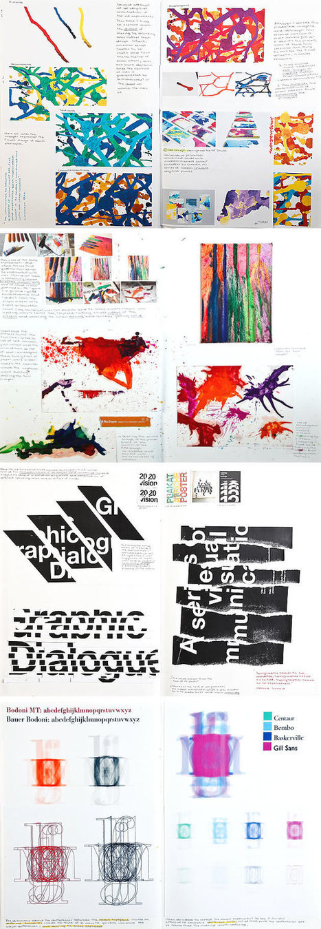 Graphic Design Sketchbook Ideas – 22 Inspirational Examples | Branding - identidad visual | Scoop.it