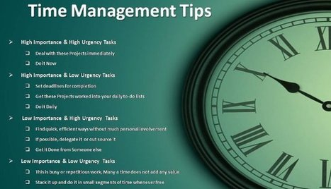 5 Quick Time Management Tips | Ganesha Sharanam | Scoop.it