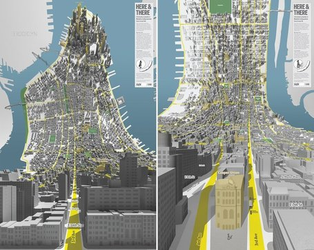 Mind-Bending 'Inception' Maps Show Manhattan Like You Haven't Seen It Before | Geography Education | Scoop.it