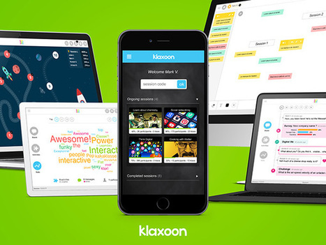 Klaxoon Debuts Cross-­Device Learning Platform at CES Unveiled New York 2016 | Digital Culture | Scoop.it