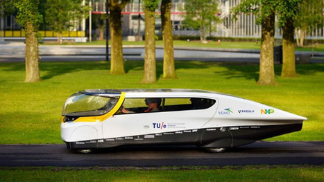 Solar-powered sedan hits Dutch streets | Future of Mobility | Scoop.it